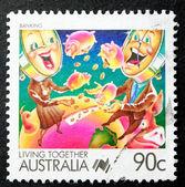Ausztrál postai bélyeg