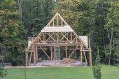 Nový dřevěný dům