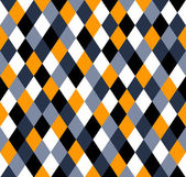 Seamless rhombus pattern - in 5 colors from white to black