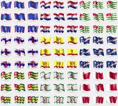 Guam (Chorvatsko), Abcházie, Nizozemské Antily, Čuvašsko, Marshallovy ostrovy, Togo, Ingušsko, Bahrajn. Velká sada 81 příznaků. Vektor