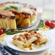 Постер, плакат: Macaroni casserole with cheese