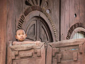 Burmai buddhista kezdő Mandalay
