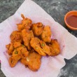 Постер, плакат: Pakora Snacks in India