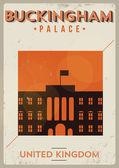Buckingham Palace Vector Illustration