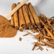 Постер, плакат: Ceylon true Cinnamon sticks and powder
