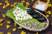 Vietnamesische Speisen, süßes Lotus Samen Brei