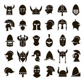 30 icons knights helmet