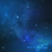 Background with night sky and stars