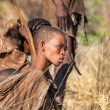 Постер, плакат: Young Bushmen woman