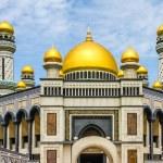 Постер, плакат: Jame Asr Hassanil Bolkiah Mosque Brunei Asia