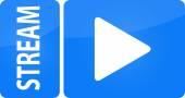 Stream web internet button