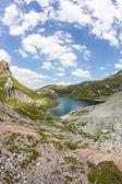 Jezero Wolayersee v Rakousku Lesachtal Korutany