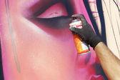 Festők graffiti street art fesztivál thess során