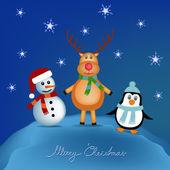 Děti vánoční obrázek