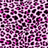 Leopard seamless pattern design vector illustration background