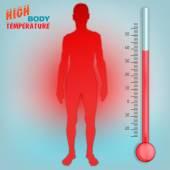 Vector Körpertemperatur