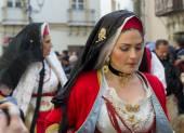 Sardinský typické kostýmy
