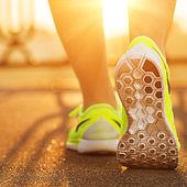 Běžec žena nohy