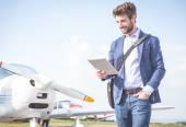 üzletember, a repülők