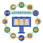 Advertising ähnliche Infographik