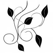 Letters abstract decorative doodles pattern Hand-Drawn Vector Illustration