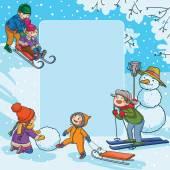 Winter-Aktivitäten für Kinder