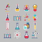 Sada ikon chemie