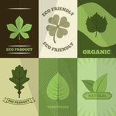 Ökológia ikonok poszter nyomtatás