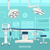 Zdravotnické operační sál návrh plakátu