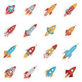 Raketa ikony nastavit