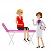 Šťastné těhotné ženy mají lékaře navštívit