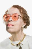 Portrét starší ženy, dospělé