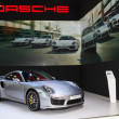 Постер, плакат: NONTHABURI THAILAND MARCH 25: The Porsche 911 turbo S is on d