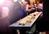 Cateringové služby. Moderní potraviny nebo předkrm pro akce a oslavy
