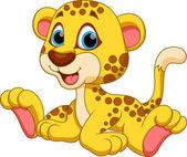 Gepard kreslený