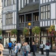 Постер, плакат: Kingly st going in parallel to Regent street Famous shopping and restaurants aria London UK