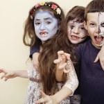 Постер, плакат: Zombie apocalypse kids concept