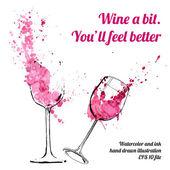 Sklenice na víno se