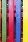 Vertikální čtyři barevné lišty