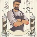 Постер, плакат: Hipster Barber Shop