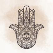 Ornate  hamsa amulet
