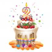 Happy Birthday cake 2