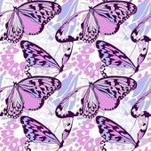 Modello di ala di farfalla senza giunte