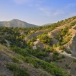 Постер, плакат: Mountain landscape Mountain valley in the Crimean mountains