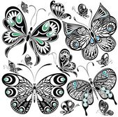 Sada motýl