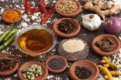 Ingredient mixture is a combination of spices, herbs and other condiments