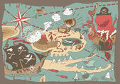 Mapa ostrova pokladů