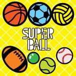 Постер, плакат: SUPER BALLS