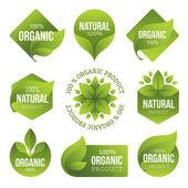 Zöld biotermékek Címkék