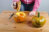 Provést ručně Halloween dýně